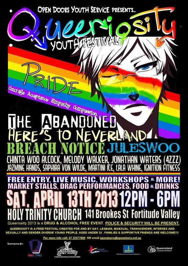 Queeriosity 2013 poster